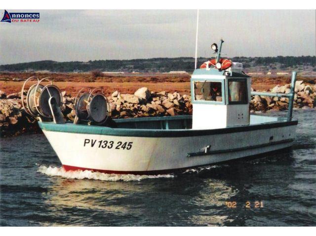 bateau peche occasion professionnel