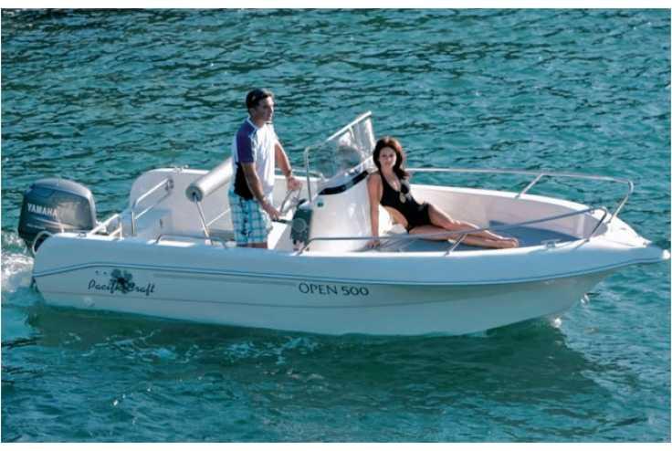 bateau peche open occasion