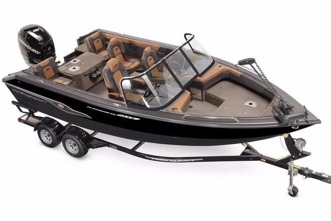 bateau peche princecraft usage