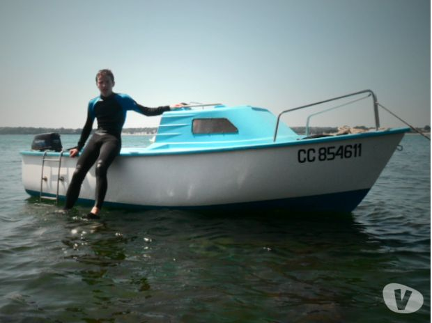 bateau peche promenade 6cv