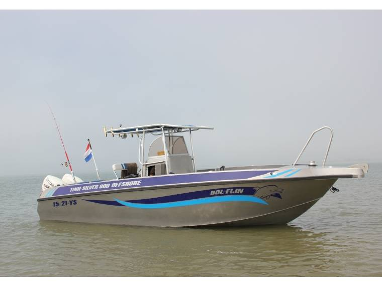 bateau peche promenade 8m