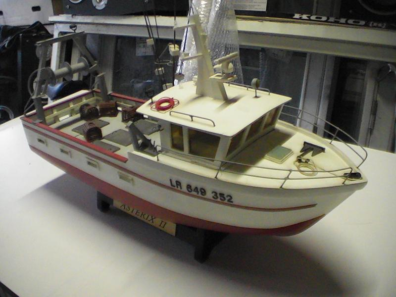 bateau peche rc
