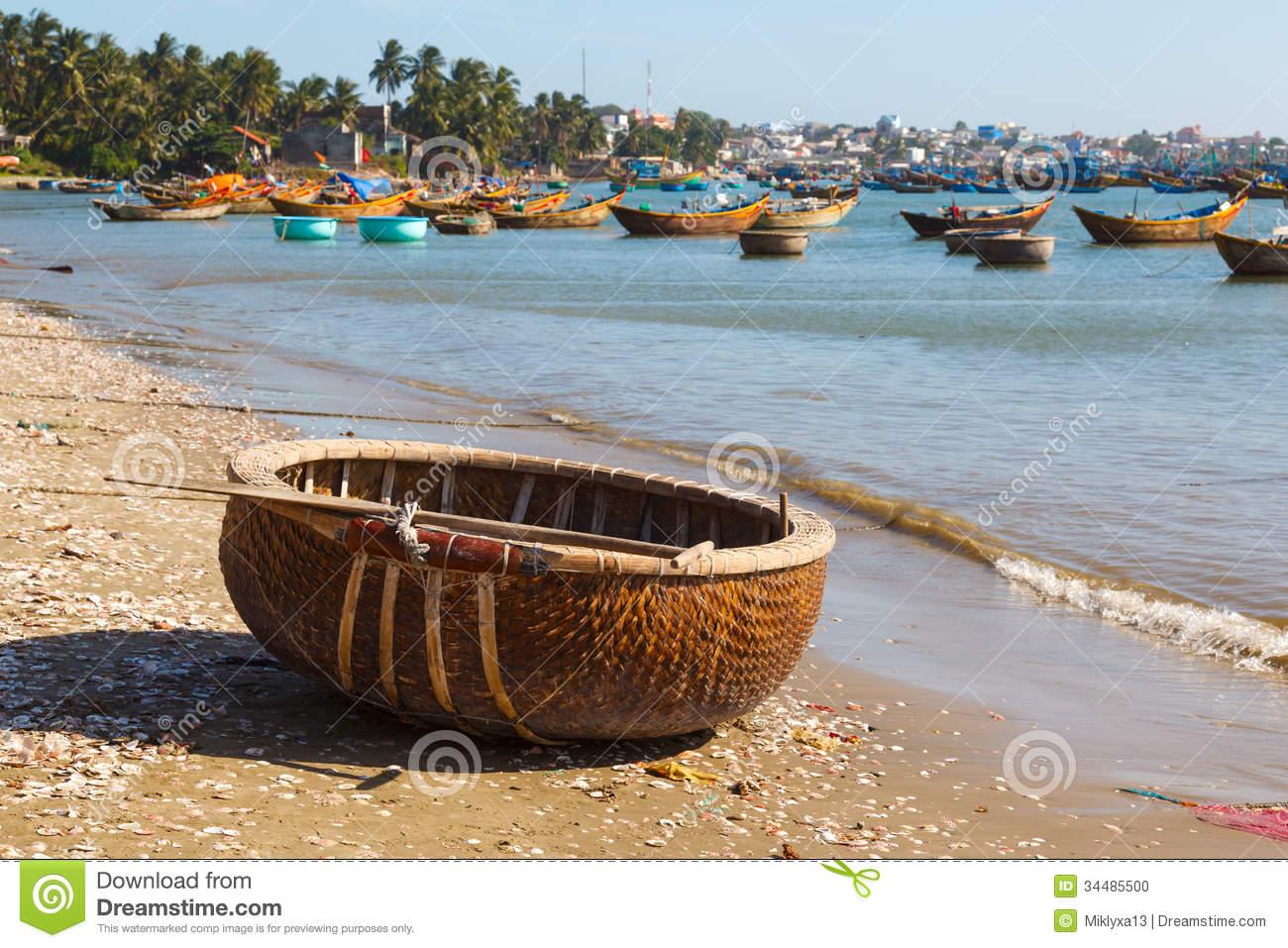 bateau peche rond