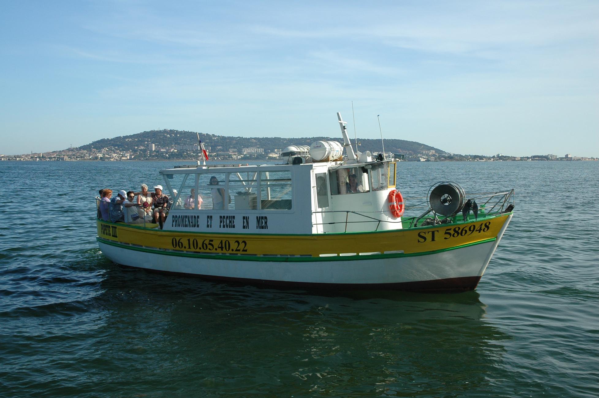 bateau peche sete