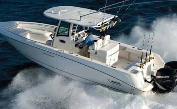 bateau peche sportive mer