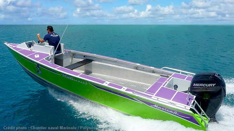 bateau peche tahitien