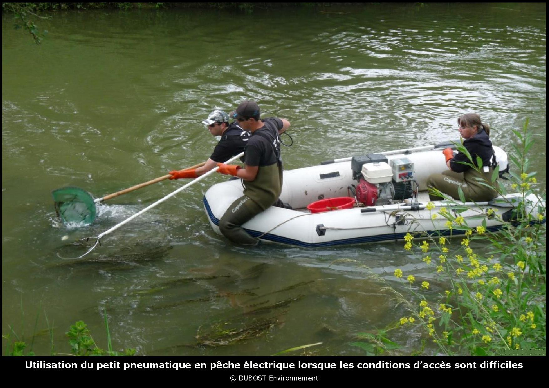 bateau peche transportable