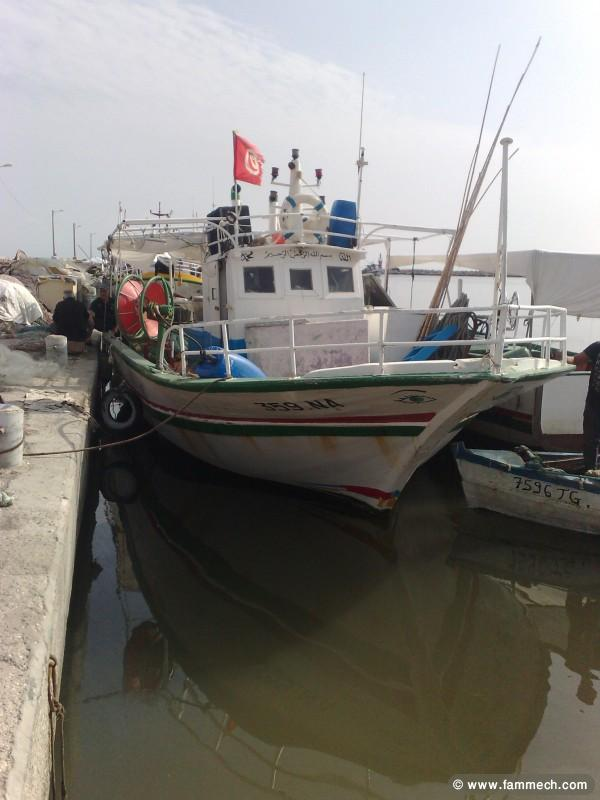 bateau peche tunisie