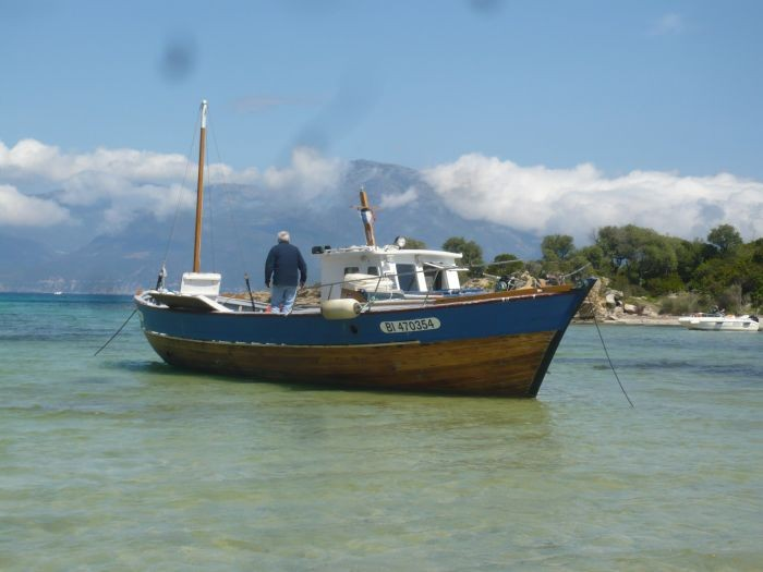 bateau peche usage a vendre