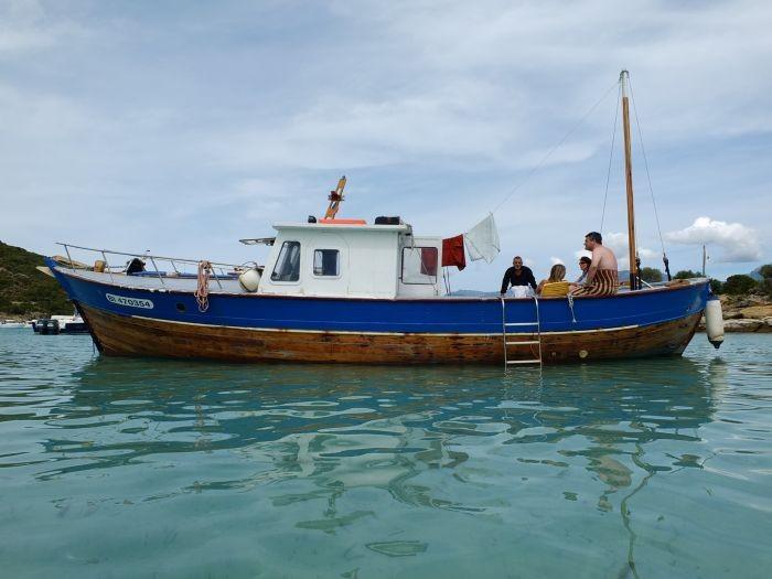 bateau peche vente
