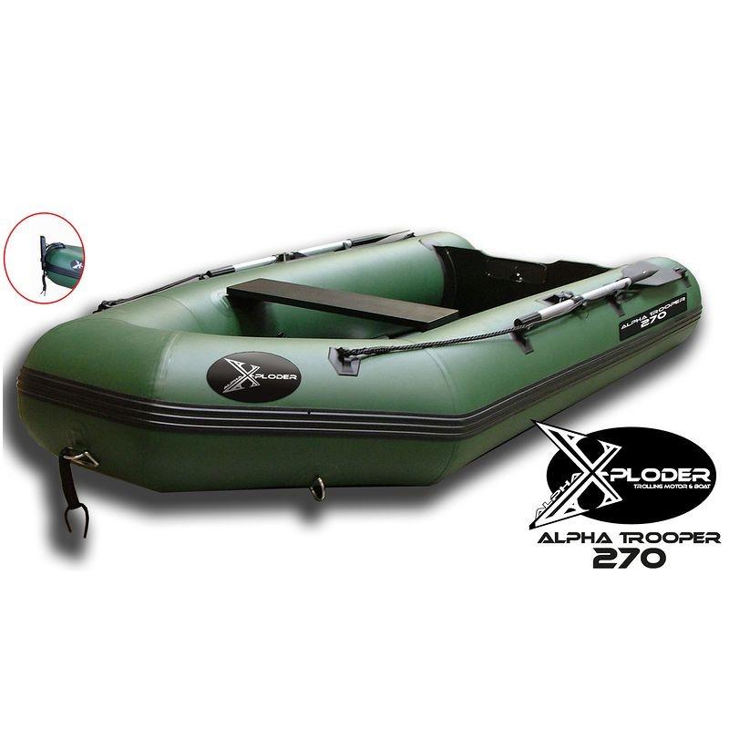 bateau peche x-ploder alpha trooper 270 x-ploder