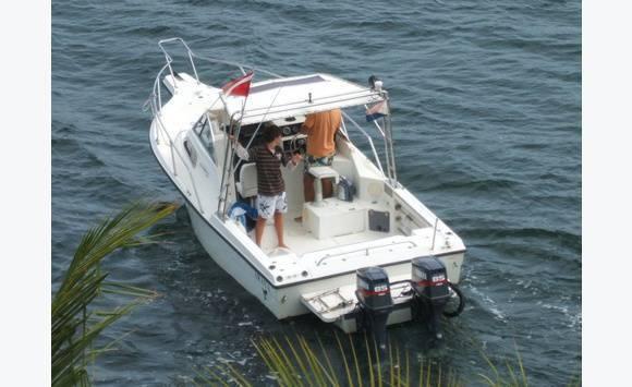 bateau peche yamaha