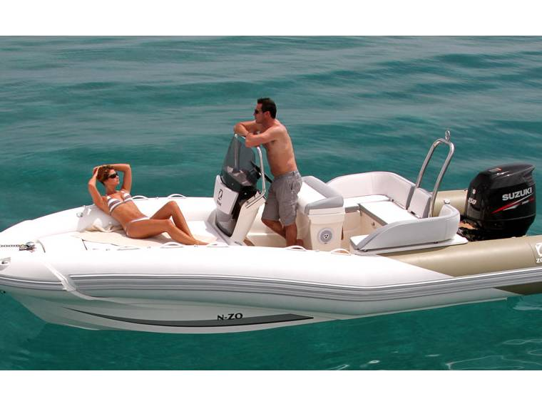 bateau peche zodiac