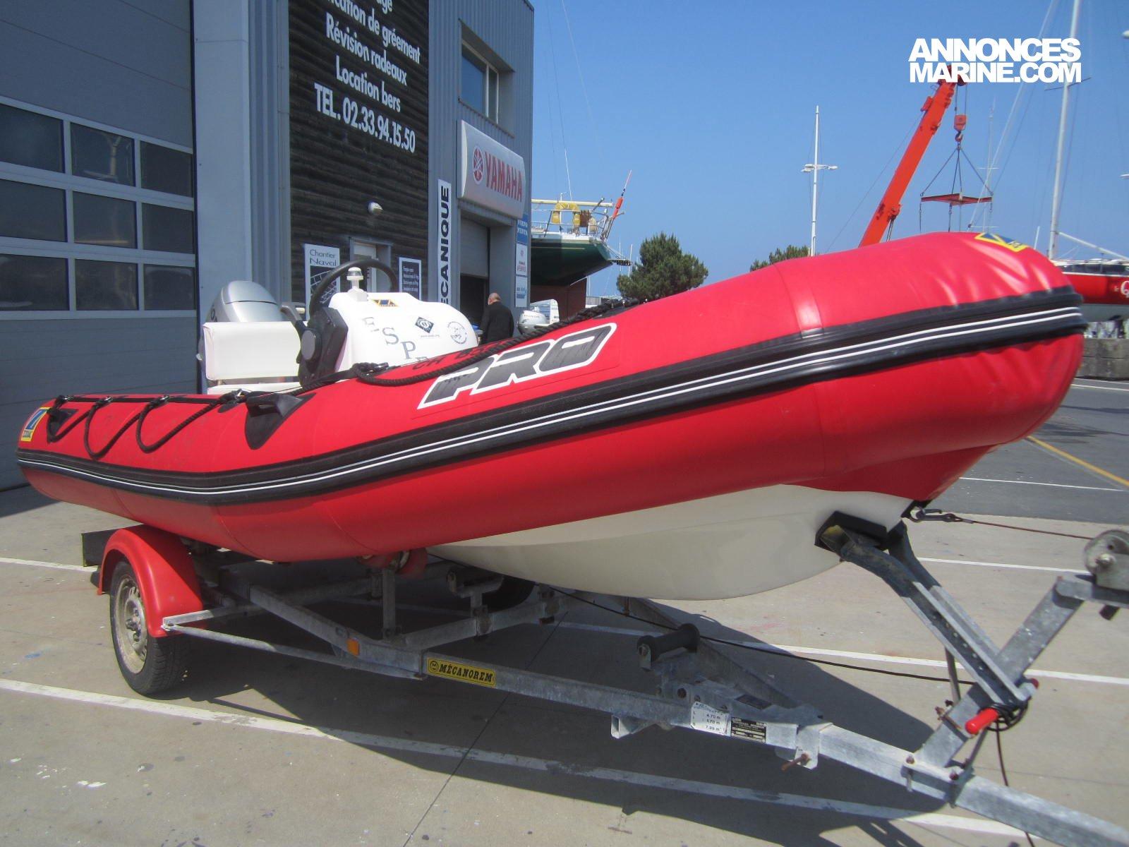 bateau pneumatique 470