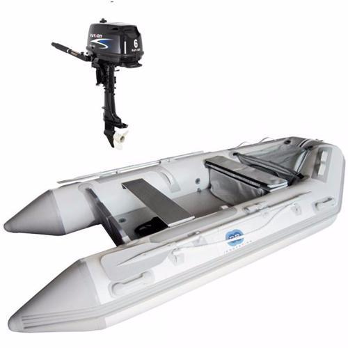 bateau pneumatique avec moteur 6cv