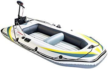 bateau pneumatique avec moteur