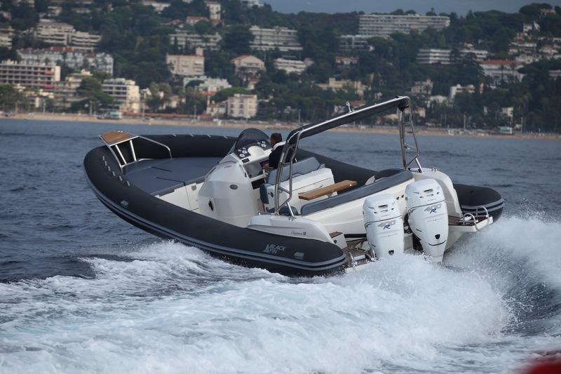 bateau pneumatique black fin