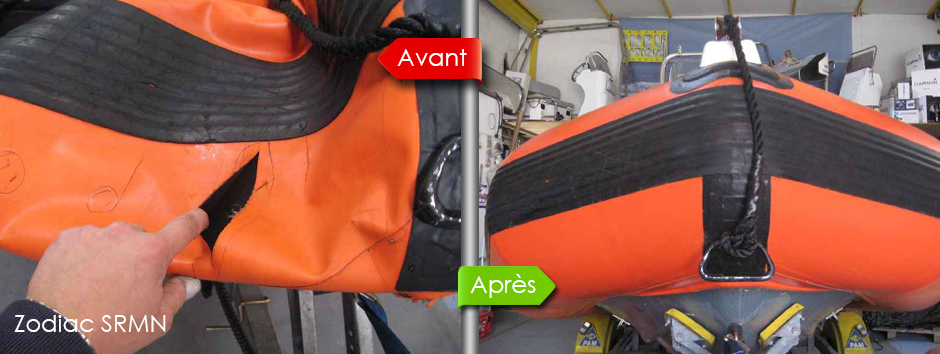 bateau pneumatique entretien