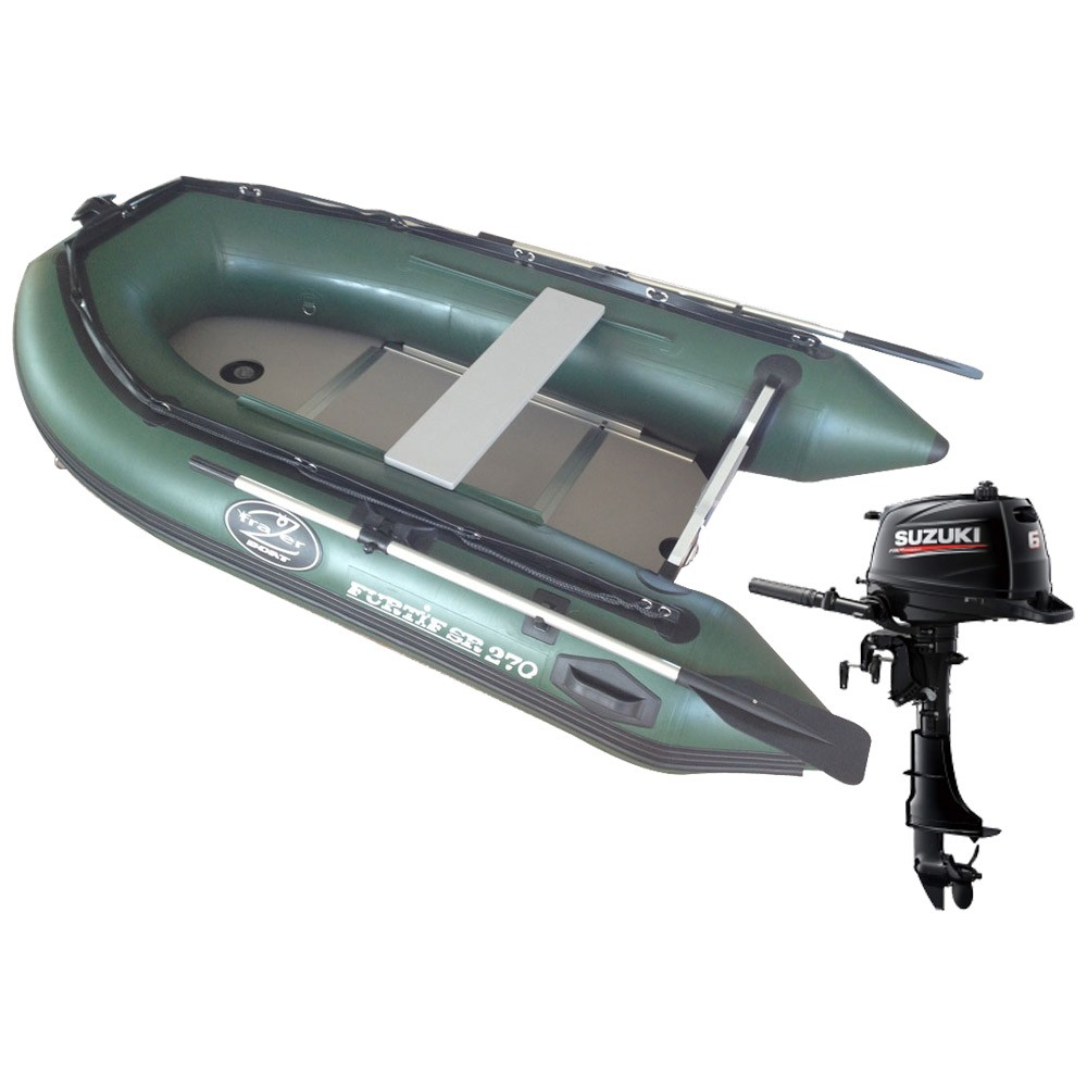 bateau pneumatique frazer furtif 270
