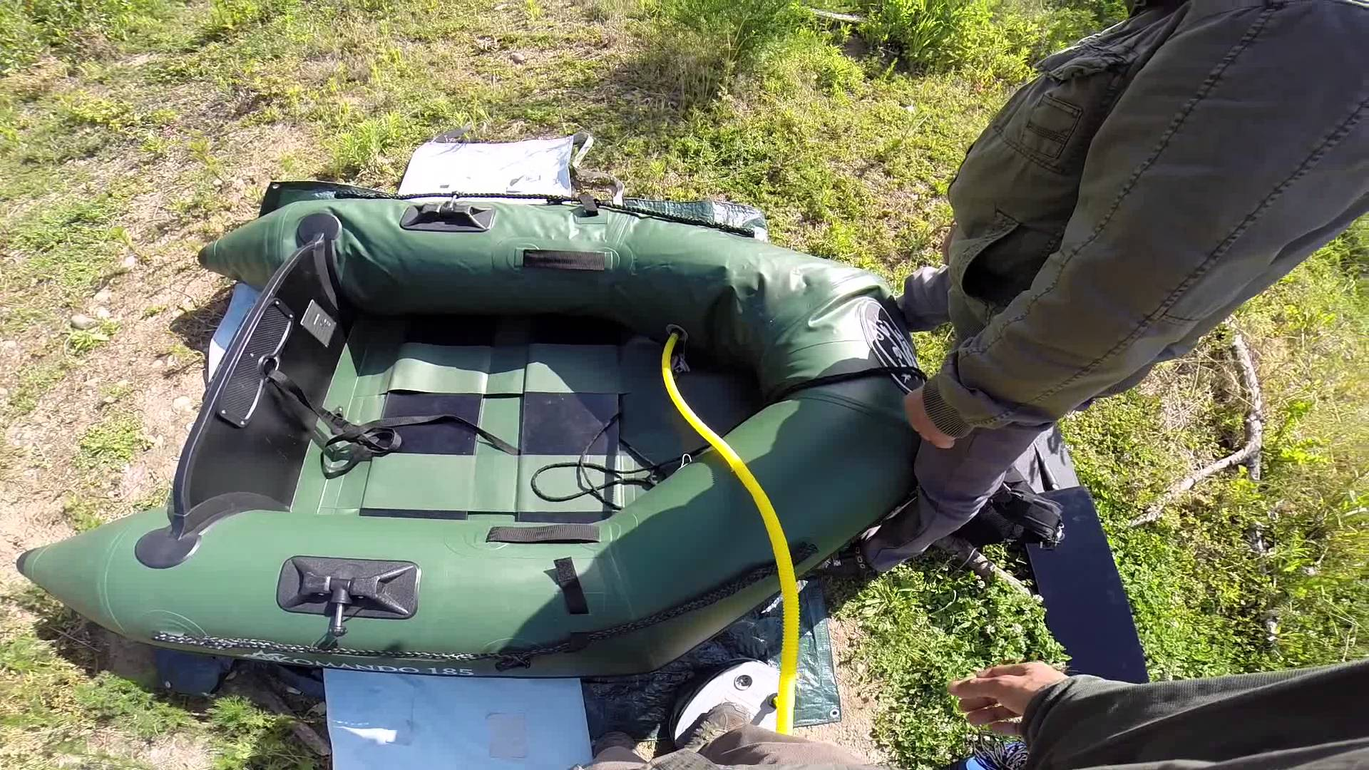 bateau pneumatique frazer komando 185