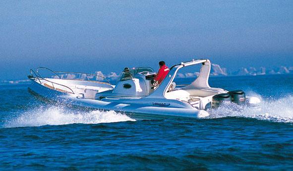 bateau pneumatique lomac