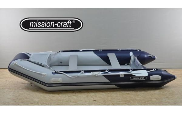 bateau pneumatique mission craft