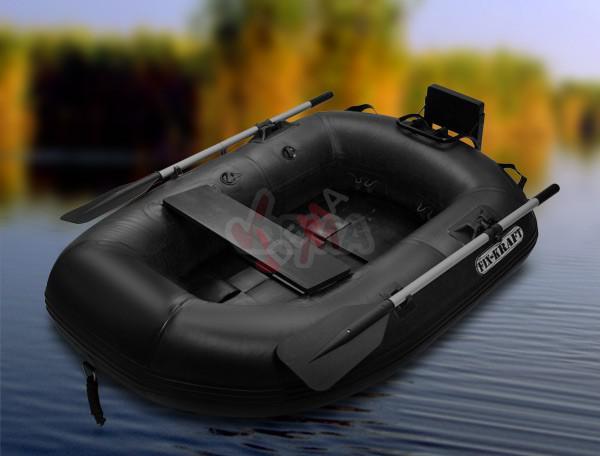bateau pneumatique noir