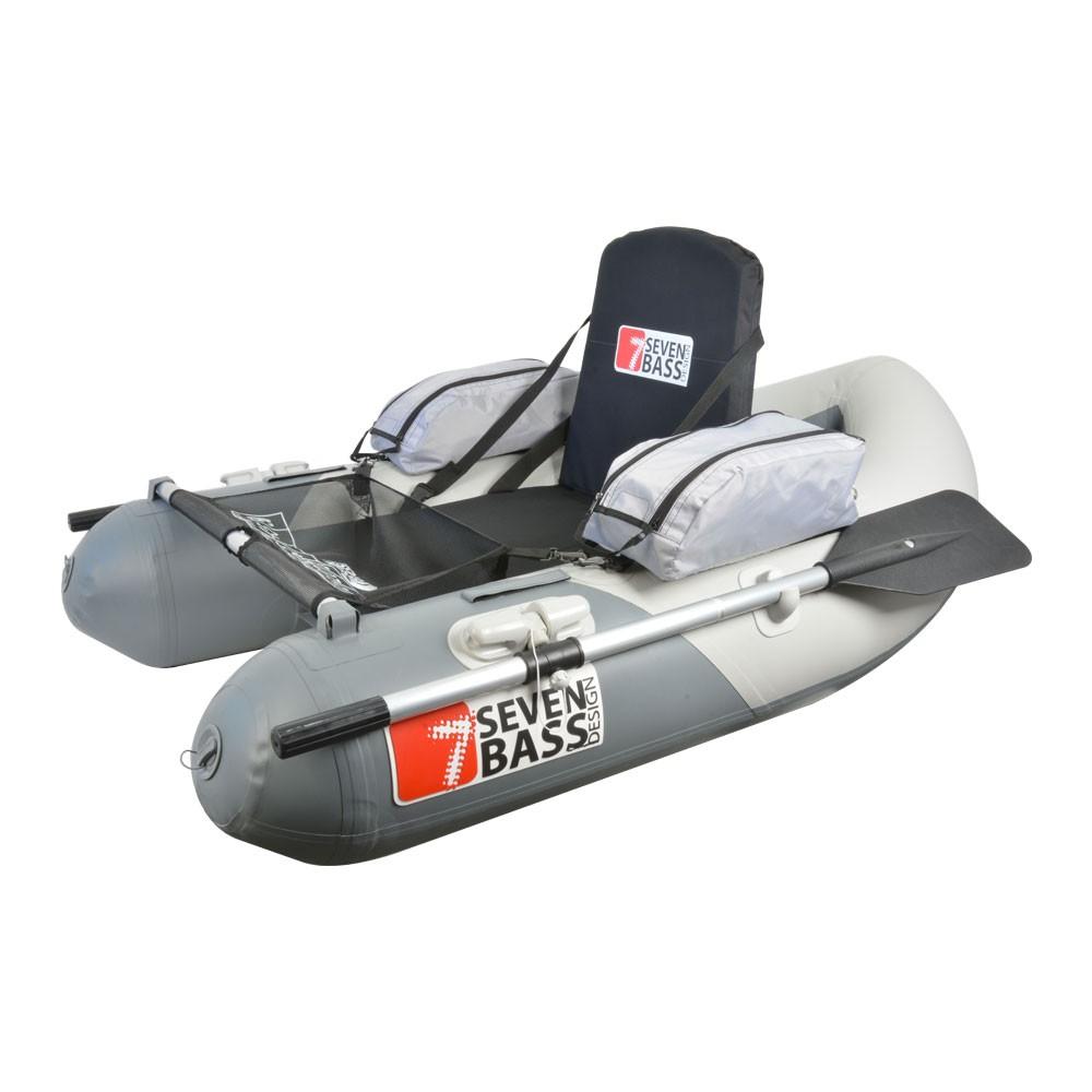 bateau pneumatique ou float tube
