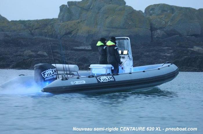 bateau pneumatique semi rigide centaure 6.20
