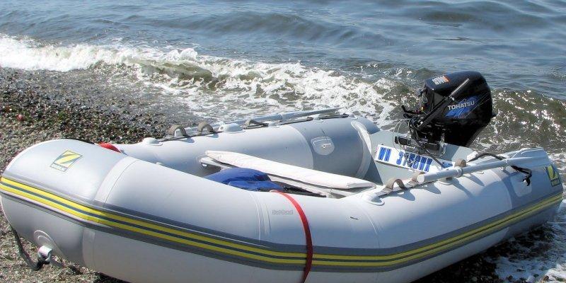 bateau pneumatique vannes