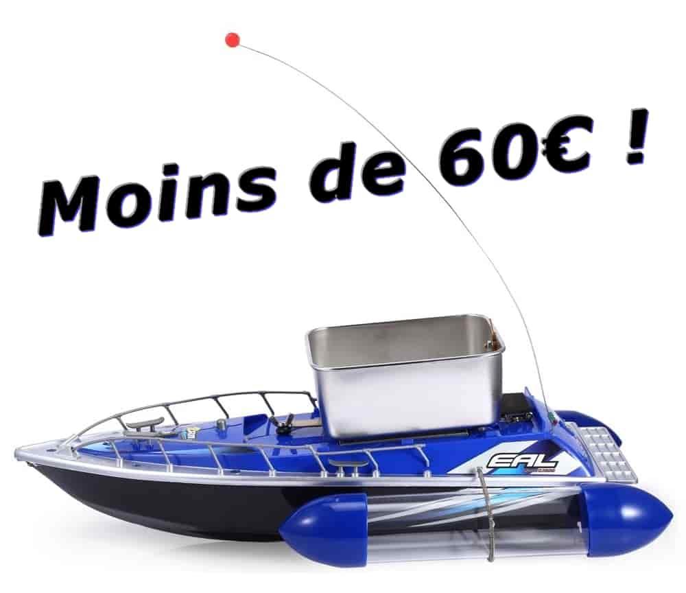 bateau amorceur peche carpe