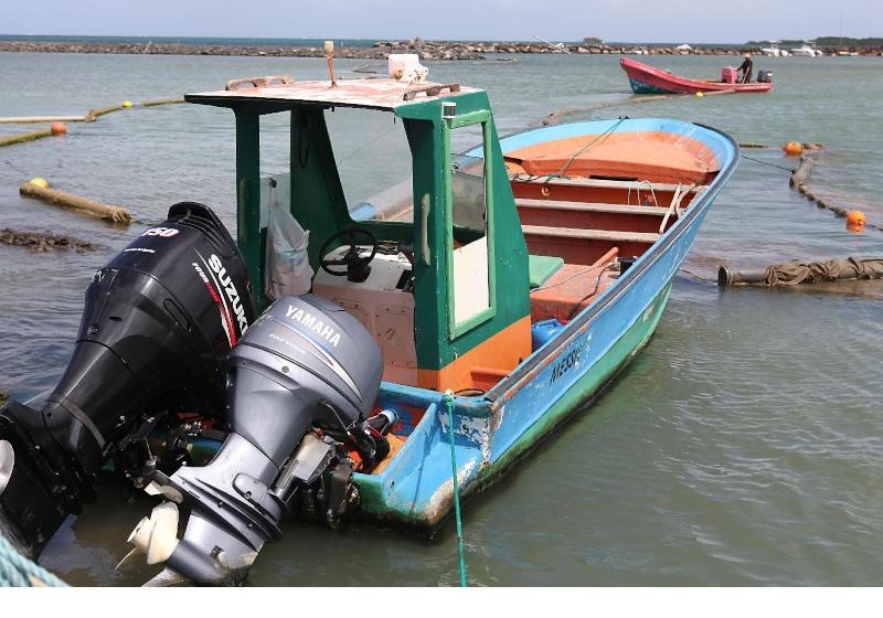 bateau amorceur sur le bon coin
