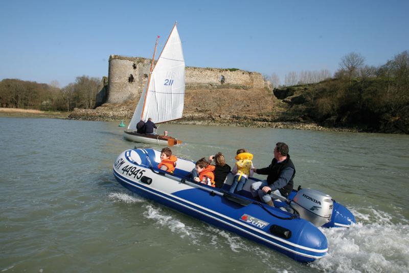 bateau gonflable 420