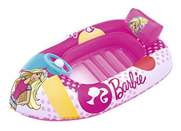 bateau gonflable barbie