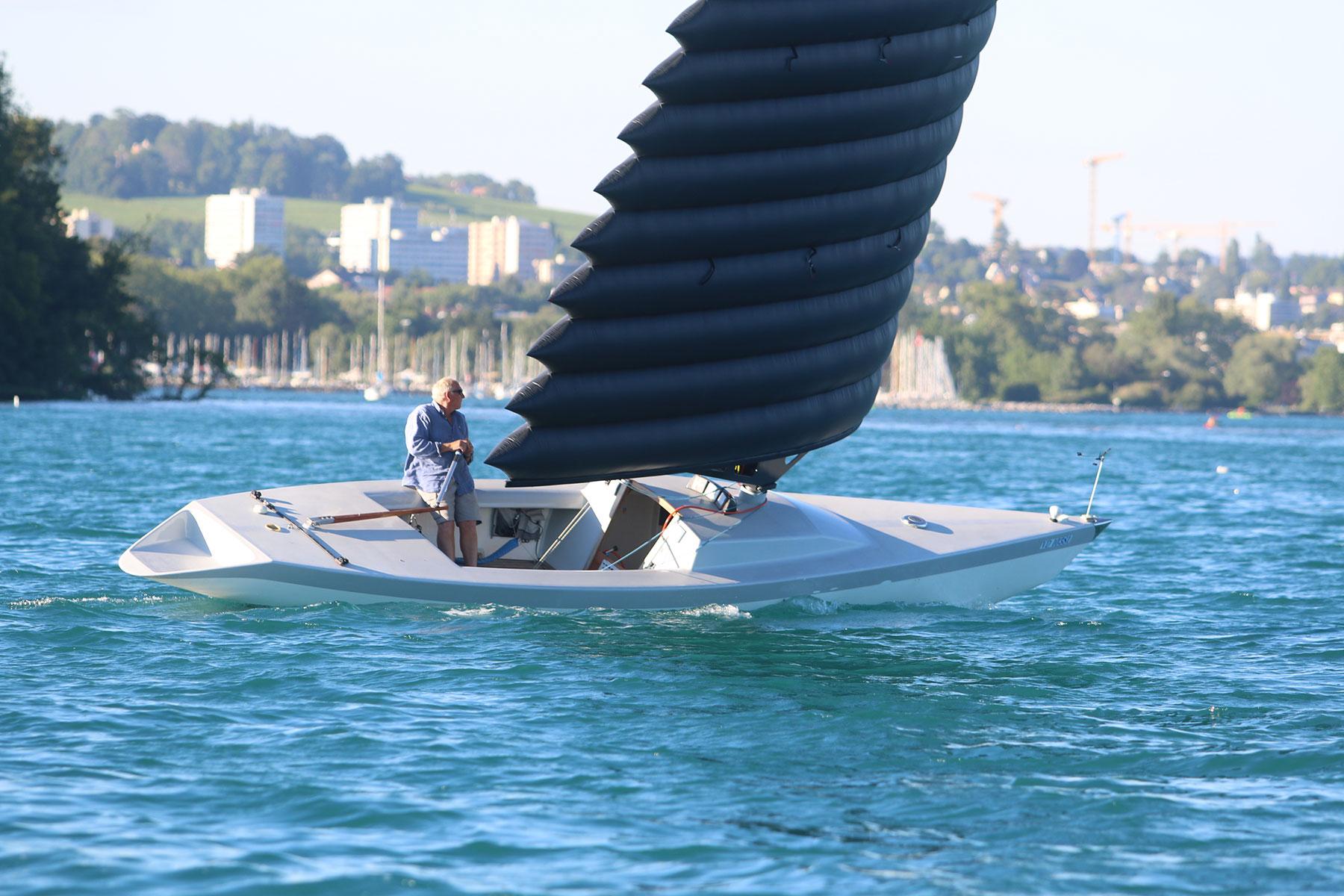 bateau gonflable lac leman
