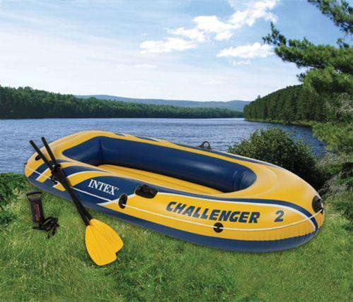 bateau gonflable lac