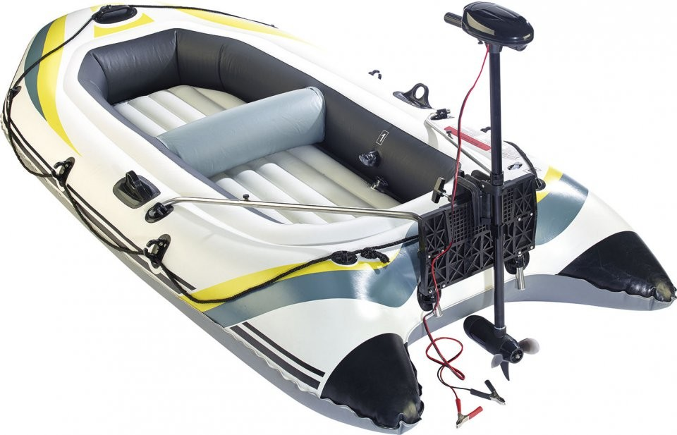 bateau gonflable moteur