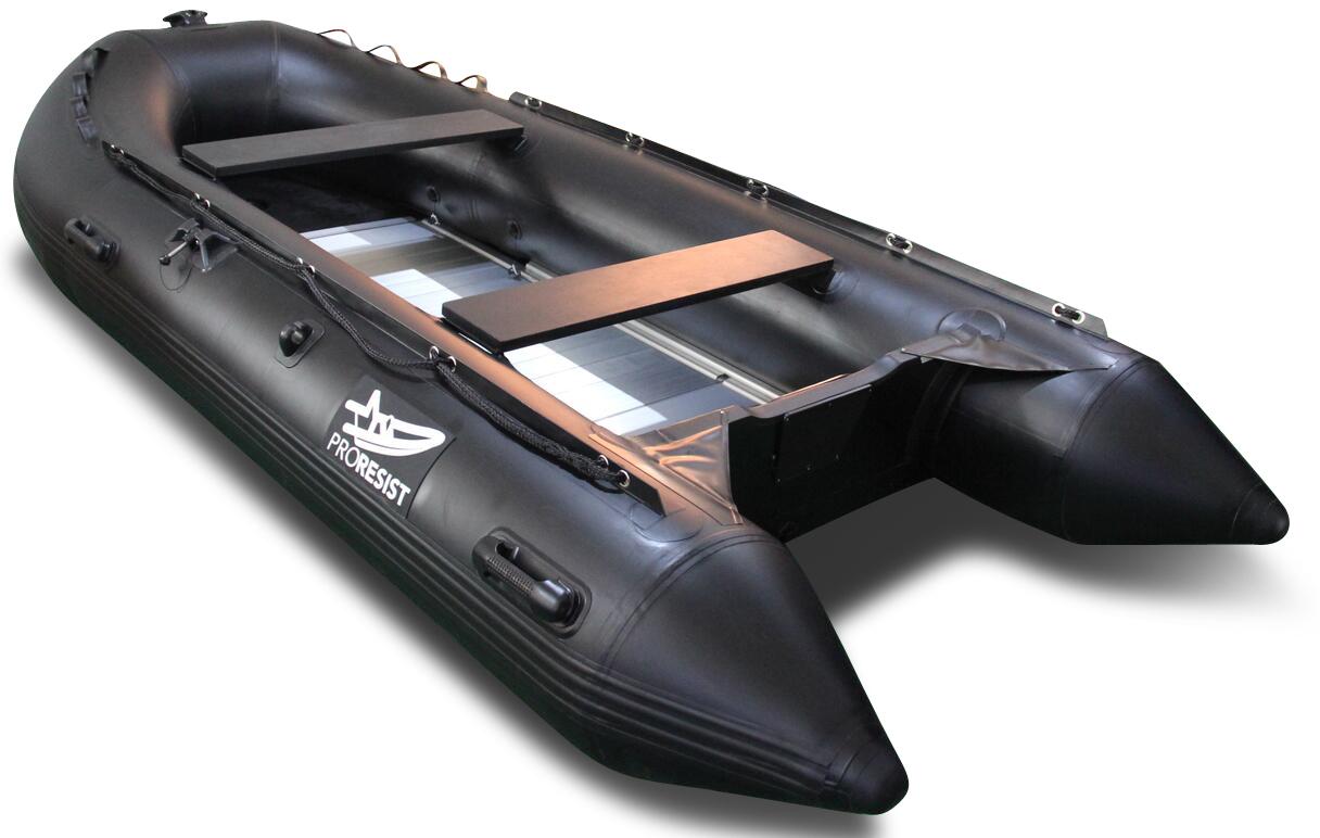 bateau gonflable noir