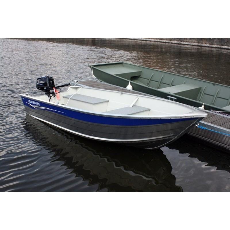 bateau peche aluminium