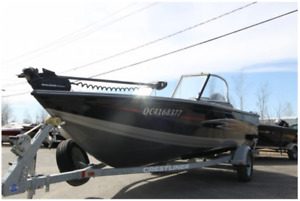 bateau peche crestliner a vendre
