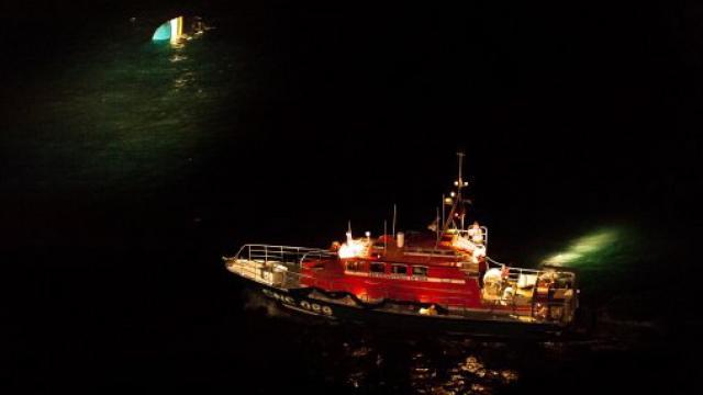 bateau peche de nuit