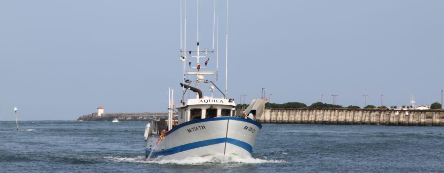 bateau peche des cotes de france