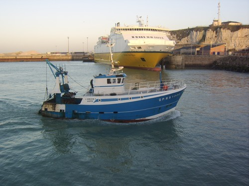 bateau peche dieppe