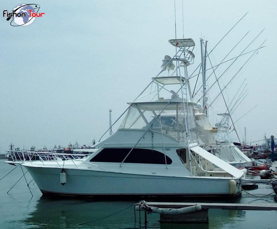 bateau peche marlin