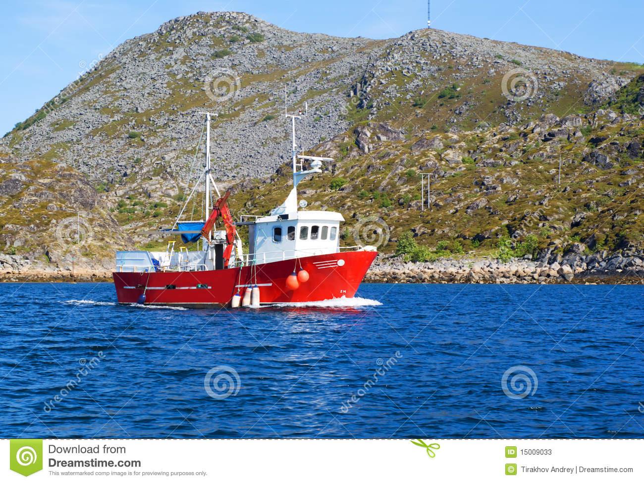 bateau peche norvegien