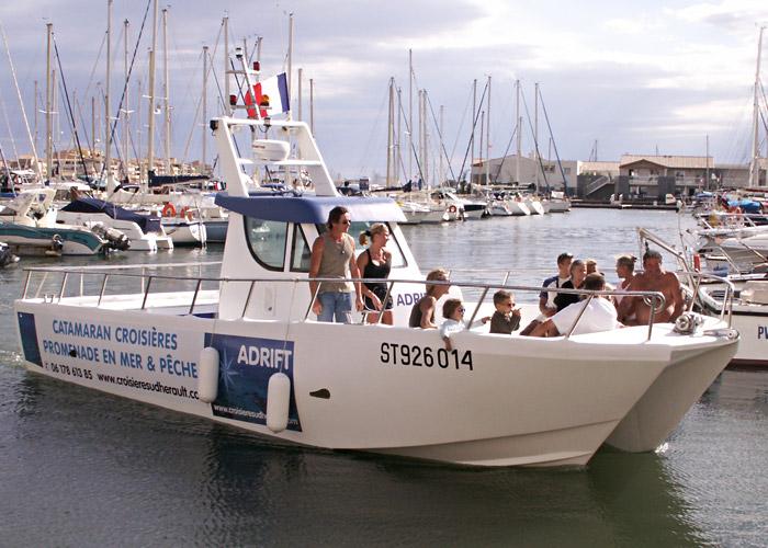 bateau peche promenade 6.50