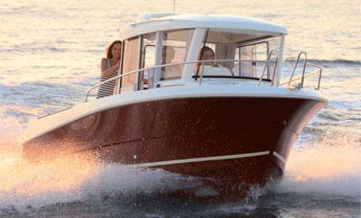 bateau peche promenade neuf jeanneau