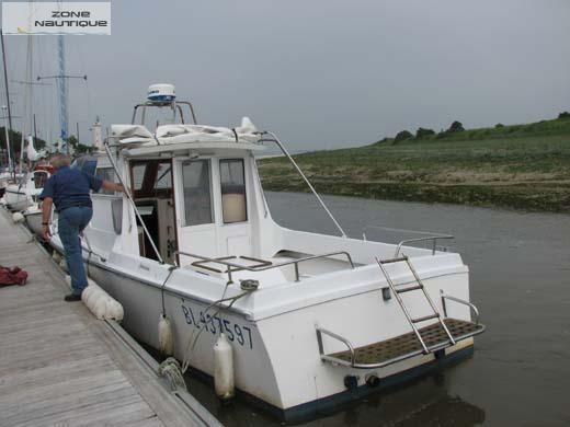 bateau peche promenade occasion