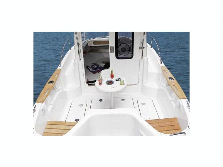 bateau peche promenade quicksilver 580 pilothouse