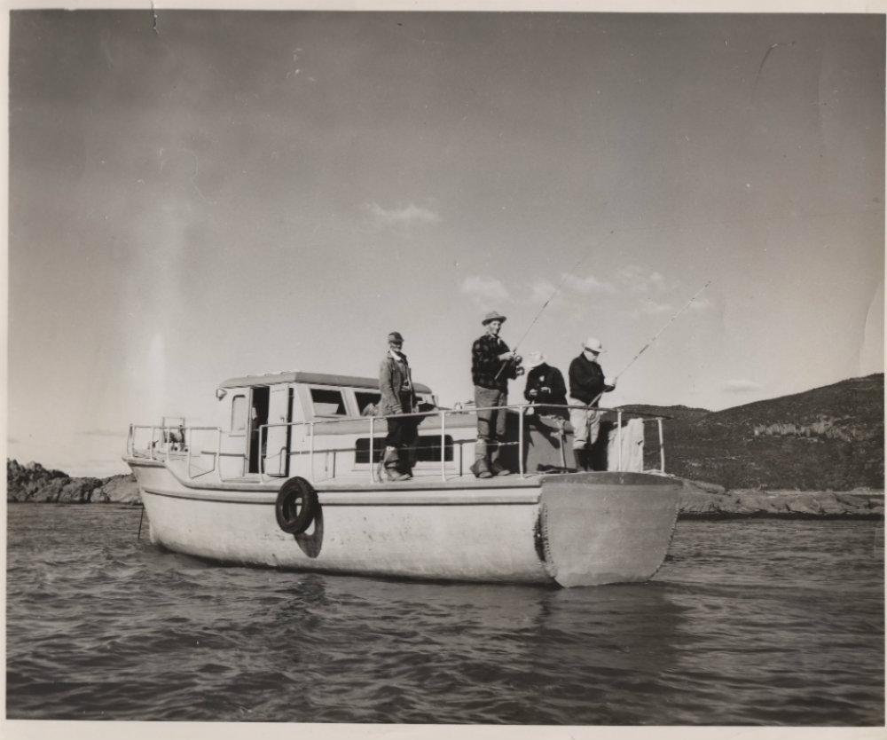 bateau peche quebec
